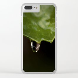 All The Raindrops Clear iPhone Case