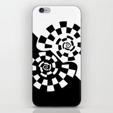 Spiral Yin & Yang iPhone & iPod Skin