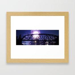 Bridge Burst Framed Art Print