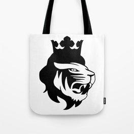 Lion king head Tote Bag