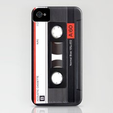 Old School Tape Slim Case iPhone (4, 4s)