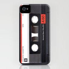 Old School Tape iPhone (4, 4s) Slim Case