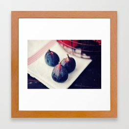 Three Figs Framed Art Print