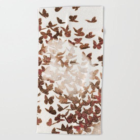 Butterfly People 3 Beach Towel