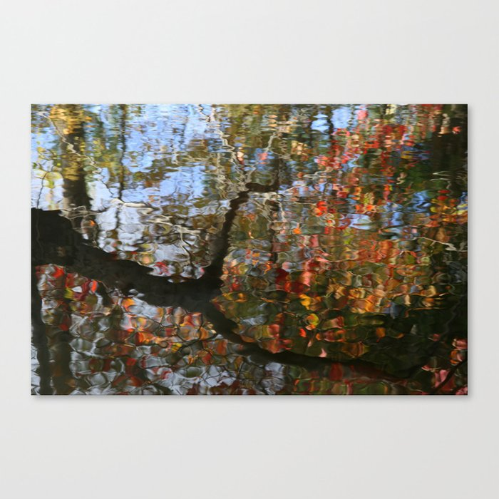 Autumn Reflections.   Canvas Print