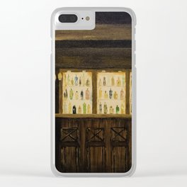 A Wee Dram Clear iPhone Case