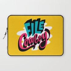 File Cowboy Laptop Sleeve