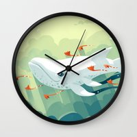 freeminds Wall Clocks featuring Nightbringer 2 by Freeminds