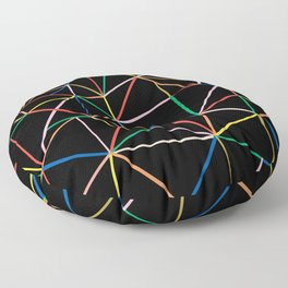 Ab Out Color B Floor Pillow