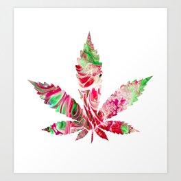 Strawberry Cough Art Print
