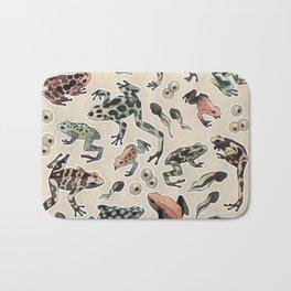 Frog pattern Bath Mat