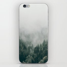 Foggy Forest 3 iPhone Skin