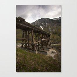 White Pass Yukon Route, Skagway, Alaska Canvas Print