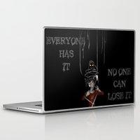 shadow Laptop & iPad Skins featuring Shadow by Yiji