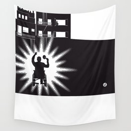 The Black Collection' Window Wall Tapestry