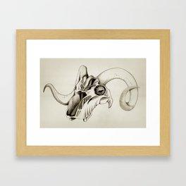 Mechanics of the Mind (Ram) Framed Art Print