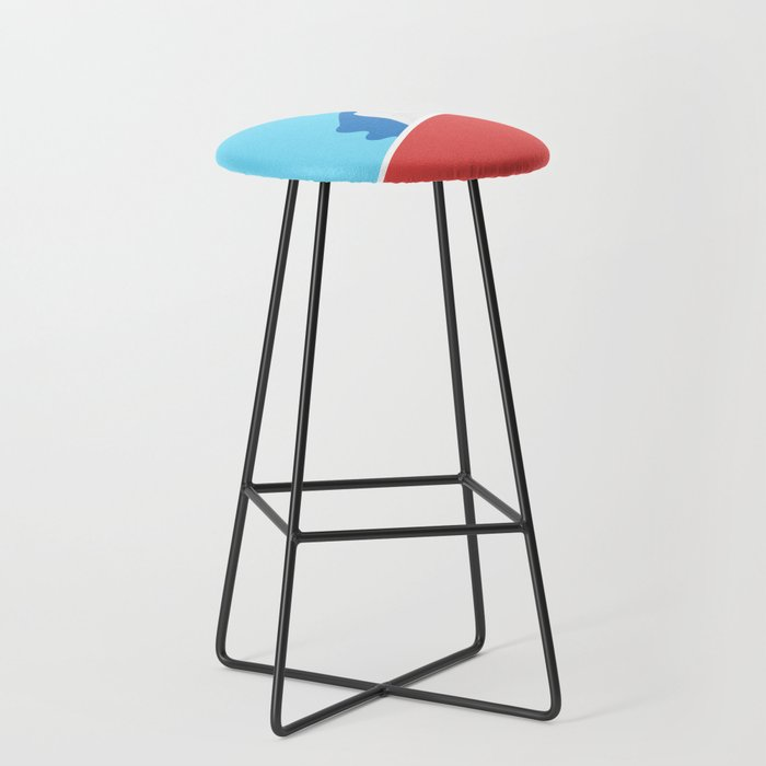 Swimming pool session Bar Stool by wasistkunst