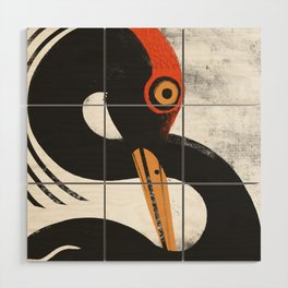 Bird of infinite Wood Wall Art