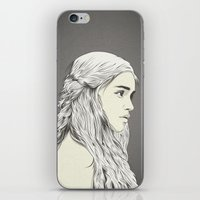 daenerys iPhone & iPod Skins featuring D T by CranioDsgn