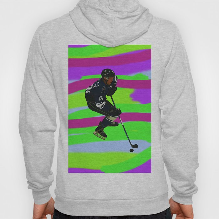 Taking Control- Ice Hockey Player & Puck Hoody