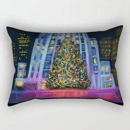 Christmas in Manhattan DP150902b Rectangular Pillow