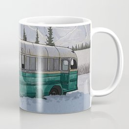 Into the Wild Fairbanks Bus Coffee Mug