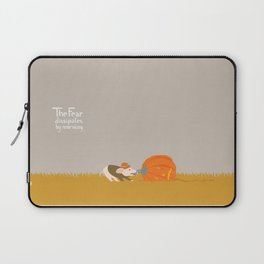 Fear dissipates by morning Laptop Sleeve