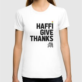 Haffi Give Thanks T-shirt