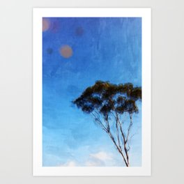 I Want to  Be a Tree Art Print
