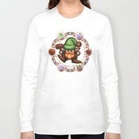 gnome Long Sleeve T-shirts featuring Gnome  by likelikes