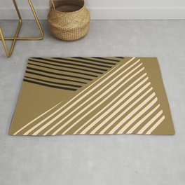 Dorm abstract line Rug