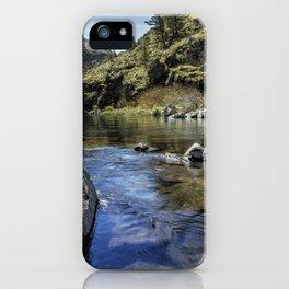 Deschutes River below Steelhead Falls iPhone Case