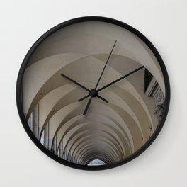 Ribbed Vaults of Venice Wall Clock