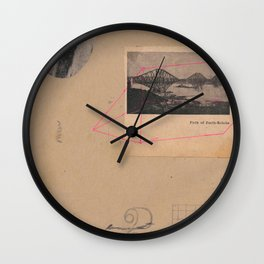 firth of forth Wall Clock