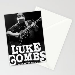 luke combs tour 2020 atin4 Stationery Cards