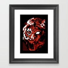 We're All Goddamned Animals Framed Art Print