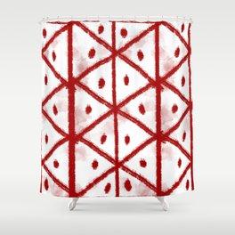 Freyr blót Shower Curtain