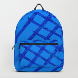 Diagonal abstract #2 Backpack