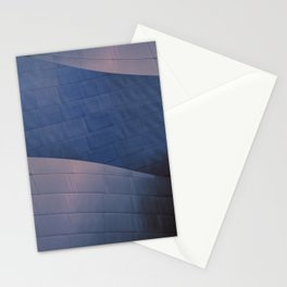 Blue and Rose architectural abstract of the home to the LA Philharmonic. Architect: Frank Gehry Stationery Cards