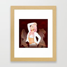 Chic and Sexy Framed Art Print