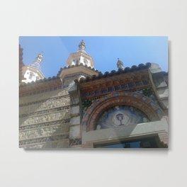 Lloret de Mar church - Catalunya - Spain Metal Print