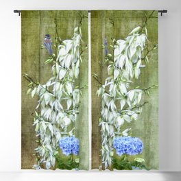 Flowers at my Door Blackout Curtain
