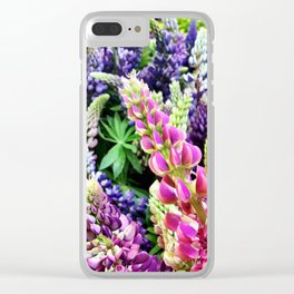 Flowers in Portland Clear iPhone Case