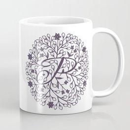 P - monogrammed initial P print Coffee Mug