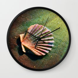 Seashell Wall Clock