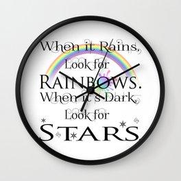 When it Rains... Wall Clock