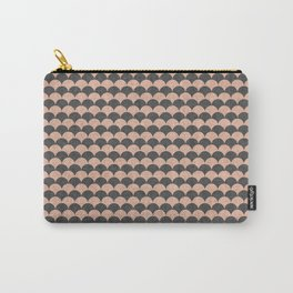 Scale - Pink And Grey Carry-All Pouch