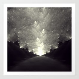 The Obvious Road Art Print