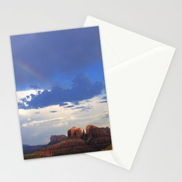Hint of a Rainbow over Sedona by Reay of Light Stationery Cards