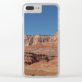 Colorful Mesas - Desert Southwest Clear iPhone Case